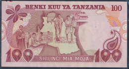 Tansania Pick-Nr: 8a Bankfrisch 1977 100 Shilingi (8163291 - Tansania