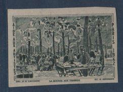 La Bourse Aux Timbres - 1942 - Non Dentele - Erinnophilie