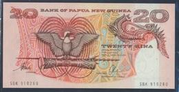 Papua-Neuguinea Pick-Nr: 10b Bankfrisch 20 Kina (8345823 - Papua-Neuguinea