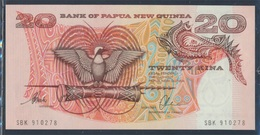 Papua-Neuguinea Pick-Nr: 10b Bankfrisch 20 Kina (8345825 - Papua-Neuguinea