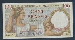 Frankreich Pick-Nr: 94 (20.2.1941) Gebraucht (III) 1941 100 Francs (8590348 - Schatzamt