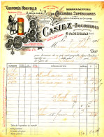 FA 918 /FACTURE- MANUFACTURE DE CHICOREE CASIEZ-BOURGEOIS   -1905-  CAMBRAI (NORD) - Alimentos
