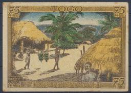 Geldschein Banknote Notgeld Deutsche Kolonien Togo 75 Pfennig   - Ohne Zuordnung