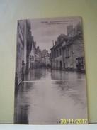 TROYES (AUBE) INONDATIONS DU 22 JANVIER 1910. LA RUE DE LA PETITE-TANNERIE. - Troyes