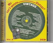 VINTAGE - 50 BRANI ORIGINALI - 2 CD - Disco & Pop