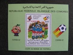 Comores: TB BF N° 29, Neuf XX. - Comores (1975-...)