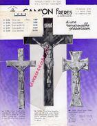 08- VIVIER AU COURT- BELLE PUBLICITE CAMION FRERES-CROIX JESUS CHRIST-FONTE MALTE-EMAIL- NICKEL- ANNEES 1950 - Agriculture