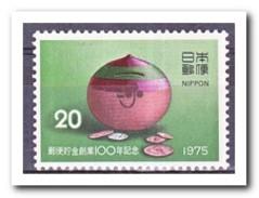 Japan 1975, Postfris MNH, 100 JAHRE Postal Savings Bank - 1926-89 Keizer Hirohito (Showa-tijdperk)