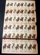 Marca Stella Foglio N° 21 Esercito Italiano Caval. 1930 - Giocattoli Antichi