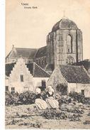 POSTAL    VEERE  - HOLANDA  - GRAN IGLESIA  ( GROOTE KERK  -GRANDE ÉGLISE - GREAT CHURCH ) - Veere