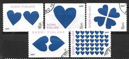 Finlande 2017 Série Oblitérée Saint Valentin - Finland