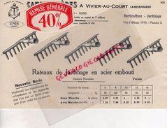 08- VIVIER AU COURT- BELLE PUBLICITE CAMION FRERES- RATEAU JARDINAGE AGRICULTURE- JARDIN-HORTICULTURE-RATEAUX - Agriculture