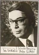 Foto Autografo Lirica Basso Anton Diakov Anni '70 - Autographs