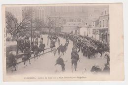 26344 PLOERMEL - Arrivée Du Surty Sur La Place Lamenais Pour L'Expulsion - Inventaires -cl :Bailly -Tigeot Chevaux Armee - Ploërmel
