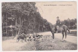 26346 Foret De Paimpont L' équipage - Sans éd - Chasse à Courre, Meute Venerie Cheval Cor -1913 Chien - Paimpont