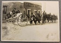 Foto Epoca - Mexico Rivoluzione Messicana 1910 - Artiglieria Pesante Strade  N.6 - Photos