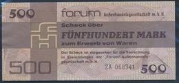 DDR Rosenbg: 373b Forumscheck Zum Erwerb Von Ausländischen Waren Gebraucht (III) 1979 500 Mark (9055427 - [ 6] 1949-1990 : RDA - Rep. Dem. Alemana