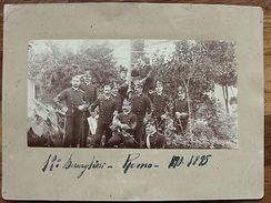Foto Epoca Militaria 13° Reparto Bersaglieri Roma 1890 - 1895 - Fotografia
