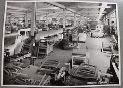 Fotografia Epoca Officine Caproni Milano '48 Settore Montaggio Cabine Autocarri - Photos