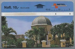 Telefoonkaart. BETEL. Octagon, Curacao. Nafl. 10,-. 2 Scans - Antilles (Netherlands)