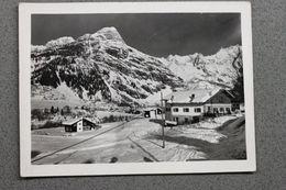 Foto Cartolina Montagna Valle D'Aosta 1950 - Plan Checrouit Funivia Courmayeur - - Photographs