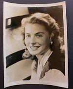Fotografia D'epoca Cinema Attrice Ingrid Bergman Anni '40 + - Photos