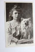 Fotocartolina Principessa Reale Mary Di Galles 1909 - Foto