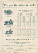 Catalogue De Pompe K.S.B. Bruxelles Frankenthal - Belgium