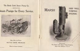 Catalogue De Pompe Marsch Battle Creek Michigan USA - Other