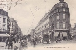 Roubaix Avenue De La Gare. Tram Tranvias  1904 - Roubaix