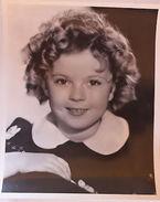 Fotografia D'epoca Cinema Attrice Shirley Temple Anni '30 Bambina - Non Classés
