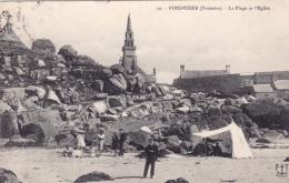 29 - Porspoder -  La Plage Et L Eglise - France