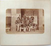 Foto Epoca Militaria Reggimento Cavalleria 1880 - Fotografia
