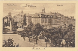 Frankfurt A.M., Physik.Verein, Senckenberg-Museum, Universität Gl1926 #E9575 - Deutschland