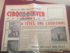 JOURNAL ACTUALITES DU CIRQUE D'HIVER BOUGLIONE - 1958 - Desde 1950