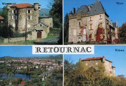 N°59920 GF-cpsm Retournac -multivues- - Retournac