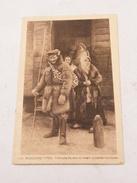Carte Postale Russie Russische Typen Polnische Bauern Vor Einem Judischen Kaufladen 1918 - Russie