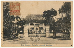 No 1 Sumatra Palembang Roemah Resident  P. Used Palembang To Cuba - Indonesia