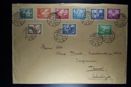 Deutsche Reich: Cover 1933 Stuttgart  -> Thun Schweiz  Mi Nr 499 - 5077 - Deutschland