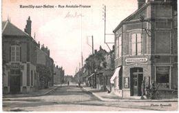 ROMILLY SUR SEINE .... RUE ANATOLE FRANCE - Romilly-sur-Seine