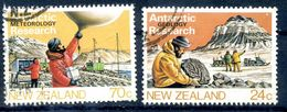 NOUVELLE-ZELANDE. Recherches Scientifiques En Antarctique. Yv.859/62.  N° YVERT 860-862 OBLITERE - Ross Dependency (New Zealand)