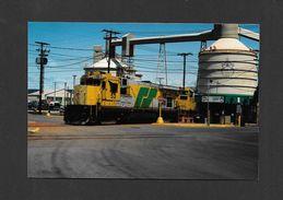 TRAINS - LA BAIE - QUÉBEC - TRAIN DU ROBERVAL & SAGUENAY - 10x15 Cm - Trains