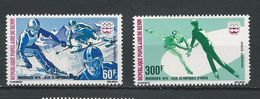 BÉNIN Scott C244, C246 Yvert  PA248,PA250 (2) ** Dent Cote 6,50$ 1976 - Bénin – Dahomey (1960-...)
