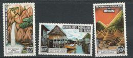BÉNIN Scott 385-387 Yvert  403-405 (3) ** Cote 4,50$ 1977 - Bénin – Dahomey (1960-...)