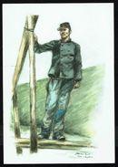 BELGIQUE - 1890 - Pionnier Du GENIE - Non Circulé - Not Circulated - Nicht Gelaufen. - Uniformes