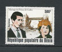 BÉNIN Scott C293 Yvert  PA297 (1) ** Cote 5,50$ 1981 - Bénin – Dahomey (1960-...)