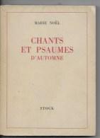 Chants Et Psaumes D'automne 1947 - Religion