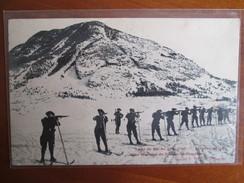 Ecole De Ski Du 159 Inf ; Exercice De Tir ; Tres Beau Cachet Militaire - Autres Communes
