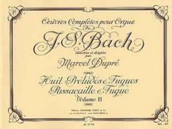 Partition Pour Orgue De JS BACH Par Dupré Volume 2 - Musique Classique