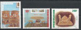 BÉNIN Scott 548-550 Yvert  567-569 (3) ** Cote 5,00$ 1982 - Bénin – Dahomey (1960-...)